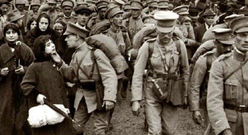 100 anos da I Guerra Mundial - 1914-1918