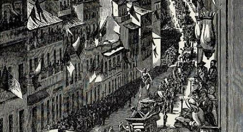 1882 – a Praça do Marquês no centenário da morte de Pombal