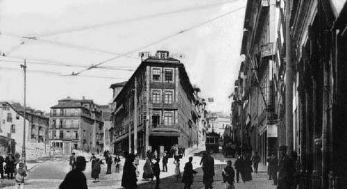 "1917 – Obras na ""Baixa"""