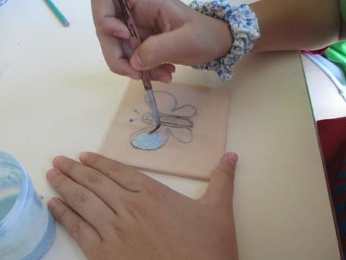 """À descoberta do azulejo"": oficina de pintura de azulejo"