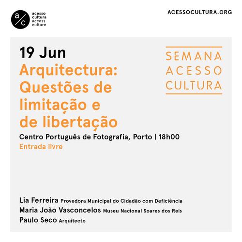 """""""Arquitectura: questões de limitação e de libertação"""""""