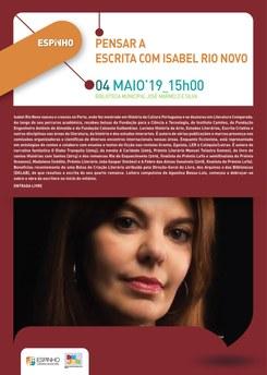 """pensar a Escrita com… Isabel Rio Novo"""