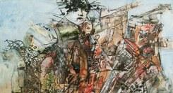 """""""Pinceladas de Papel"""", pintura de Hermínia Cândido"""