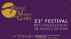 23º Festival Internacional de Música de Gaia