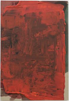 7 pinturas recentes de Pedro Cabrita Reis e ainda 4 trabalhos sobre papel