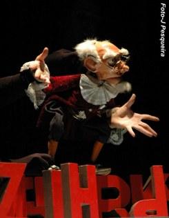 A Expressão Dramática da Marioneta - manipulação
