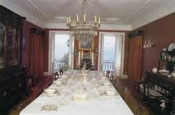 A festa da  mesa do século XIX