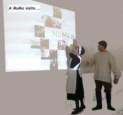 A MuMa visita… | Rábula Teatral de divulgação dos museus de Matosinhos