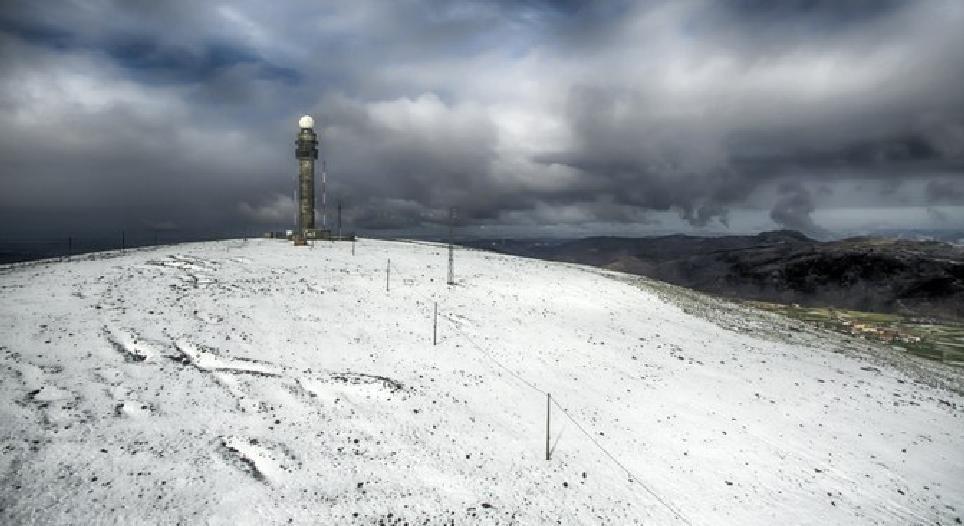 «A neve» na aldeia da Castanheira