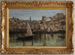 A paisagem urbana do Porto pela mão do pintor  Charles Napier Hemy