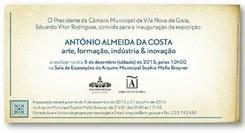 António Almeida da Costa - arte, formação, indústria & inovação