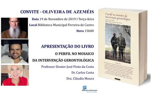Apresentação do livro «O perfil no mosaico da Intervenção Gerontológica»