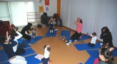 Babyoga Nível III – dos 2 aos 4 anos