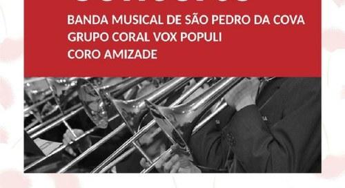 Banda Musical São Pedro da Cova   Grupo Coral Vox Populi   Coro Amizade