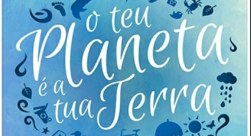 """Bandeira Azul_O teu Planeta é a tua Terra  """"Histórias na areia com salpicos de mar"""""""