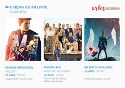 Cinema ao Ar Livre | ARTES EM ITINERÂNCIA