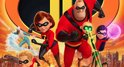CINEMA - THE INCREDIBLES 2: OS SUPER-HERÓIS