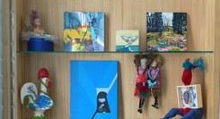 Colectiva – Acervo,  de Desenho, Pintura, Fotografia e  Escultura