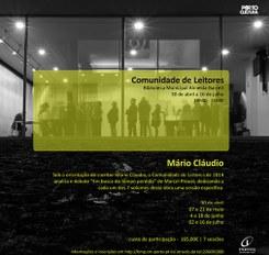 Comunidade de Leitores com Mário Claúdio