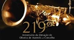 Concerto 219º aniversário da elevação de Oliveira de Azeméis a concelho