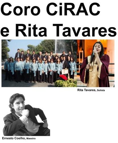 Coro do CiRAC e Rita Tavares