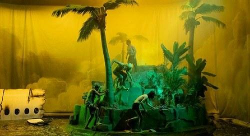 Crash Park, la vie d'une île / Philippe Quesne