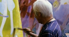 Em casa com a playlist do Pintor Júlio Resende