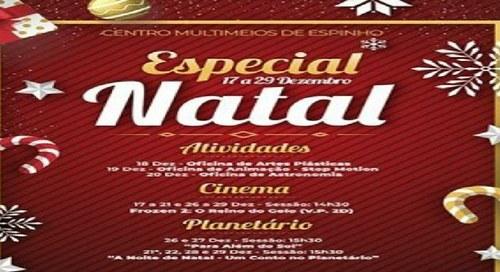 Especial Natal - Atividades - Cinema - Planetário