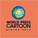 """Exposição """"World Press Cartoon Top 50 2014"""""""