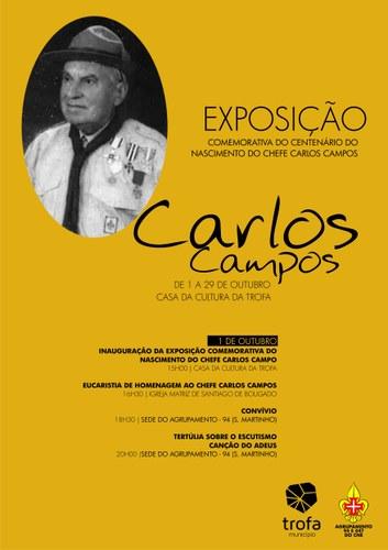Comemorativa do Centenário do Nascimento do Chefe Carlos Campos
