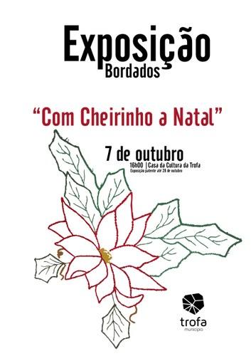 """Bordados """"Com Cheirinho a Natal"""""""