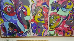 Pintura de Henrique Coelho e Gomes da Rocha