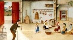 Pintura Naïf - O Ciclo do Linho