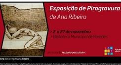 Pirogravura de Ana Ribeiro
