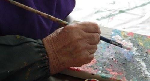 Trabalhos de Desenho e Pintura dos Residentes da Torre Sénior