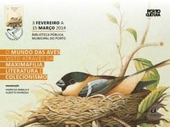 """""""O Mundo das Aves visto através da Maximafilia, Literatura e Colecionismo"""""""