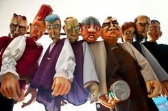 Exposição Palco das Marionetas do Teatro e Marionetas de Mandrágora