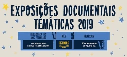 Exposições Biblioteca do Anis Estrelado e Biblio.Juv – dezembro 2019