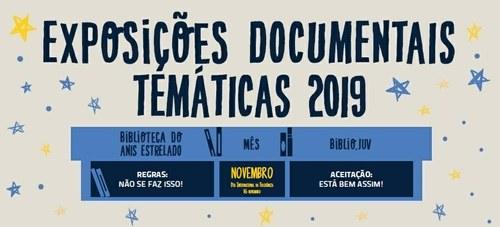Exposições Biblioteca do Anis Estrelado e Biblio.Juv – novembro 2019