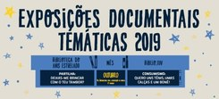 Exposições Biblioteca do Anis Estrelado e Biblio.Juv – Outubro 2019