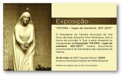 Fátima - lugar de memória