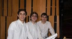 Francisco Lucena Pais, António Narciso & Mateus Barros Piano