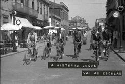 História local vai às Escolas