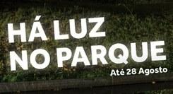 """Instalação """"Há Luz no Parque"""" 2017"""