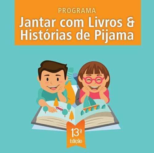 Jantar com livros e Histórias de Pijama 2020