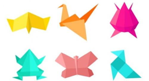 Mãos à Obra... Oficina de Expressão Plástica - Origami