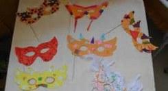 Mãos à Obra…Máscaras de Carnaval