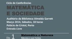 Matemática e Sociedade - ciclo de conferências
