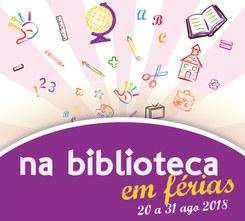 Na Biblioteca em Férias 2018
