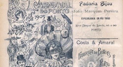 O Clube Fenianos Portuenses e o Carnaval de outras épocas